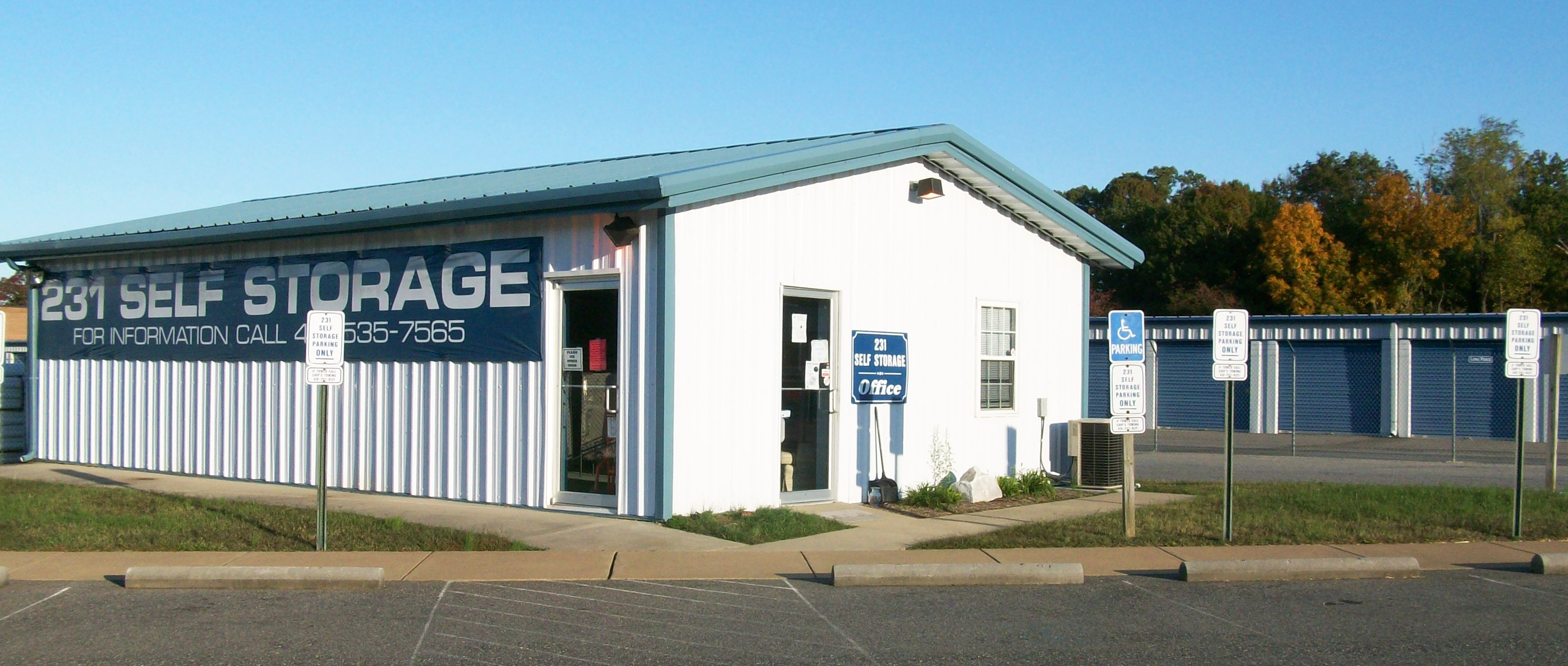 231 Self Storage Is Located Off Rt 231 In The Front Of The Calvert County  Industrial Park In Prince Frederick, MD.
